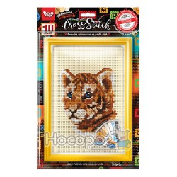 "Набор для творчества Danko toys ""Вышивка крестиком на канве CROSS STITCH"" VKB-01-01"