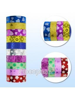 Стрічка паперова клейка для декору 1,5см*2,5м 397201