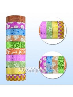 Стрічка клейка паперова для декору, 1,5см*2,5м 397204