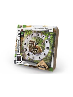 """Комплект для творчості """"Embroidery clock"""" (10), EС-01-01, 02, 03, 04, 05"""