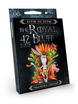 """Карткова гра """"The Royal bluff"""" укр. (32), RBL-01-01U, RBL-01-02U"""