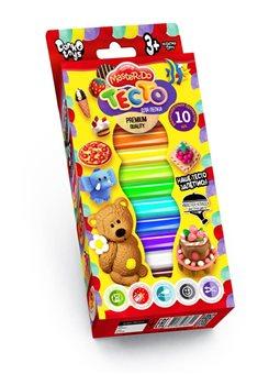 """Набір креативної творчості """"Тісто для ліпки """"Master Do"""" укр коробка 10 кольорів *40 г (20) TMD-02-02"""