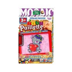 "Набор для творчества Danko toys ""Baby Paillette"" глиттер+пайетка РG-01-01,02,03,04,05,06"