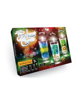 """Набір креативної творчості """"Гелеві свічки"""" своїми руками (4), GS-02-01, GS-02-02"""