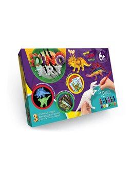 """Набір креативної творчості """"Dino Art """" (5), DA-01-01,02,03,04,05"""