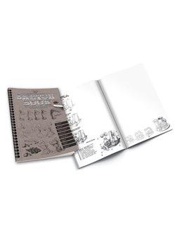 """Набір креативної творчості """"SKETCH BOOK"""" укр. (40), SB-01-02"""
