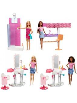 Набор мебели с куклой Barbie в асс. (3)