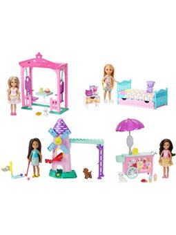 """Игровой набор Barbie """"Угощение Челси и зверушки"""" в асс. (2)"""