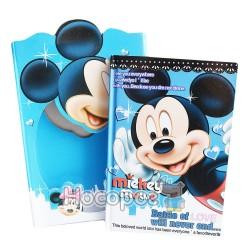 Блокнот Микки Маус НВ32К-В005 на замке в подарочной коробке