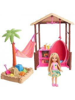 """Набор Barbie """"Пляжный домик Челси"""""""