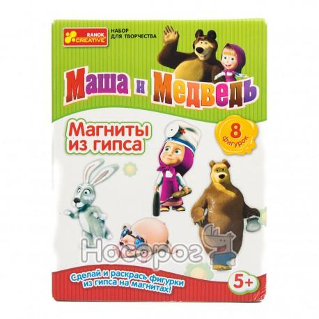 """Гипс на магнитах """"Маша и заяц"""" (4018)"""