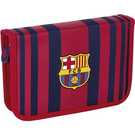 Пенал без наполнения, 2 внутренних развертки 1BW2 FC-186 Barcelona Barca Fan 6