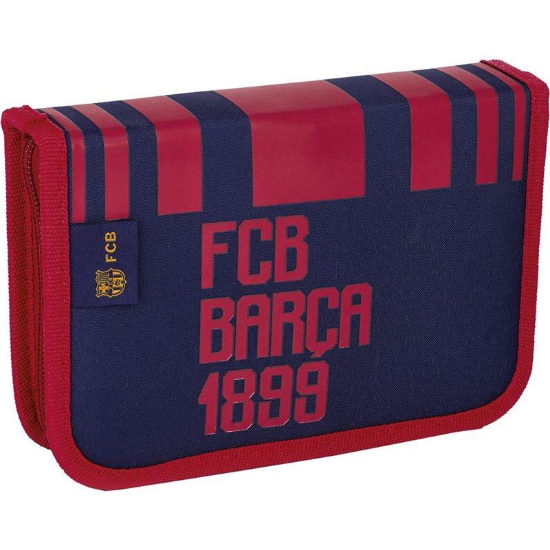 Фото Пенал без наполнения, 2 внутренних развертки 1BW2 FC-186 Barcelona Barca Fan 6