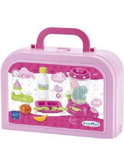 Игровой набор для кормления малыша в кейсе, 12 аксес., 12 мес. +