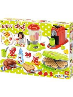 """Набір """"Кухонна техніка Chef"""" з посудом та продуктами, 18 міс.+"""