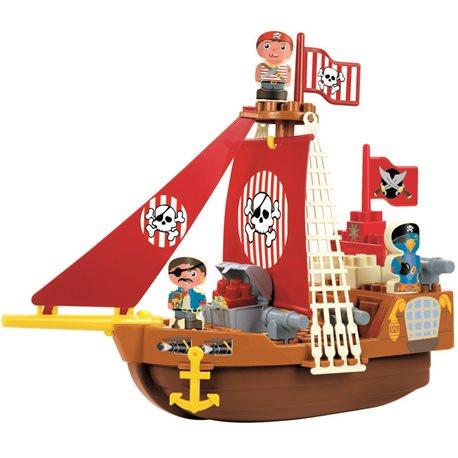 """Фото Конструктор """"Корабль с пиратами"""", 18 мес. +"""