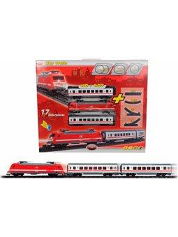 Железнодорожный путь с поездом, 21 см, 3