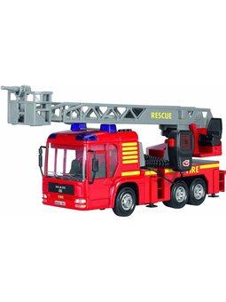 Пожарная машина со звук., Свет. и водным эффектами, 43 см, 3