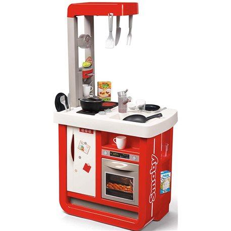 Фото Интерактивная кухня «Бон Аппетит» с аксессуарами и звуковым эффектом, красная, 3
