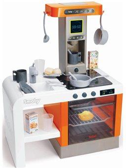 """Интерактивная кухня """"Тефаль Шеф"""", со звук. и свет. эффект., с аксес., оранжевая, 3 +"""