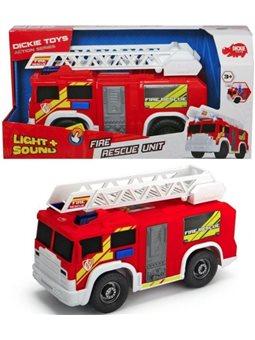 """Функциональное авто """"Пожарная служба"""" со звук. и свет. эффектами, 30 см, 3"""