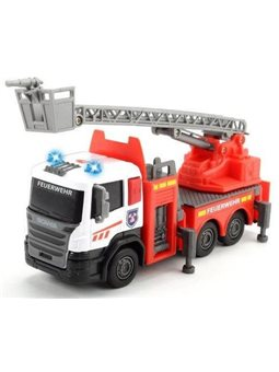 """Пожарная машина """"Скания"""" с подвижными частями, звук. и свет. эффектами, 2 вида, 17 см, 3"""
