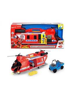 """Функциональный вертолет с 2 винтами """"Спасение на море"""" с машинкой, звук. и свет. эффектами, 3"""
