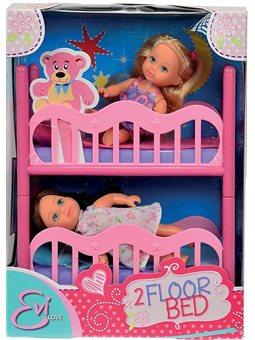 Кукольный набор Эви с двуспальной кроватью, 3