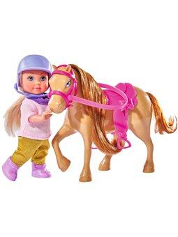 Кукольный набор Эви и пони, 3 вида, 3