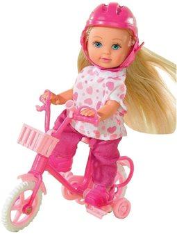 Кукла Эви на велосипеде, 2 вида, 3