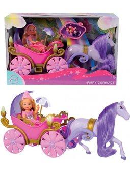 Кукольный набор Эви и сказочная карета с лошадью, 3