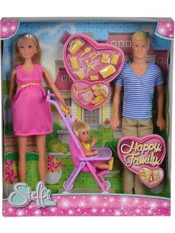 """Кукольный набор Штеффи """"Счастливая семья"""", 3"""