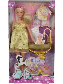 Кукла Штеффи-беременная с трубкой для королевского младенца, 3