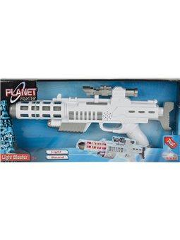 Световой бластер-винтовка со звук. и свет. эффектом, 44 см, 3