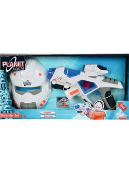 """Ігровий набір """"Космічний солдат. Бластер та шолом"""" зі звук. та світл. ефектами, 28 см, 3+"""