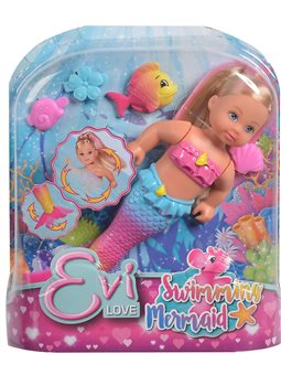 """Кукольный набор Эви """"Русалочка"""", что движет хвостиком, с аксес., 3"""