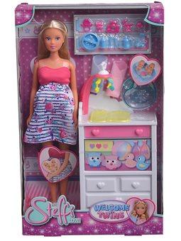 """Кукольный набор Штеффи """"Беременная двойней"""" с младенцами и аксес., 3"""