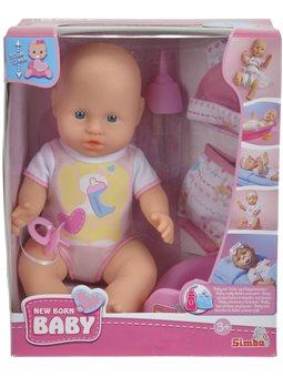 Кукольный набор Пупс NBB с одеждой и аксессуарами., 30 см, 3