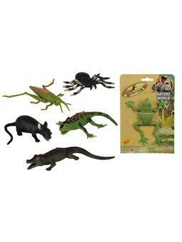 """Іграшка-стрейч """"Тваринки"""", 14 см, 6 видів, 3+"""