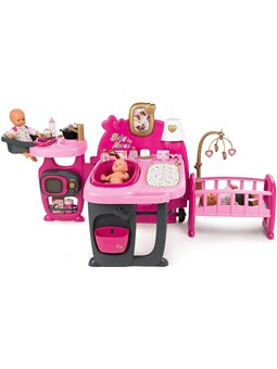 """Большой игровой центр """"Бебi Ньорс. Комната малыша"""" с кухней, ванной и спальней и аксессуарами, 3+"""