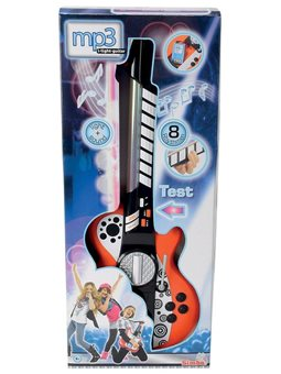 """Музыкальный инструмент """"Гитара"""" с разъемом для MP3-плеера, 8 муз. эффектов, 66 см, 6+"""