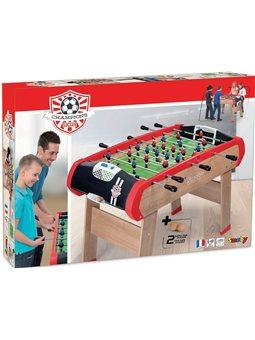 """Дерев'яний напівпрофесійний футбольний стіл """"Чемпіон"""", 120х90х84 см, 8+"""