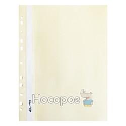 Швидкозшивач 4Office кремовий А4 4-240