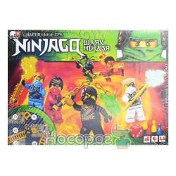 """Настольная игра маленькая """"Ninjago/Нинзяго"""" укр."""
