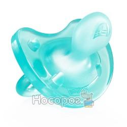 Пустышка Physio Soft Chicco силиконовая от 12 месяцев 1шт. голубая