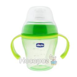 "Чашка ""Soft Cup"", зеленая 6 м+ Chicco"