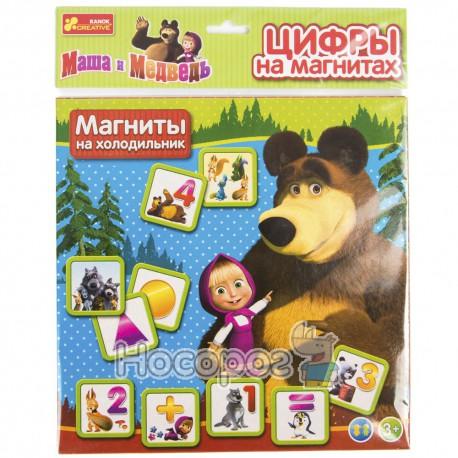 """4201а Цифры на магнитах """"Маша и медведь"""""""