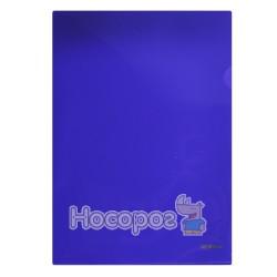 Папка-кутик NORMA 5024 А4 щільна, фіолетова