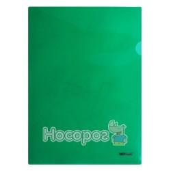 Папка-уголок NORMA 5024 А4 плотная, зеленая