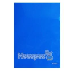 Папка-кутик NORMA 5024 А4 щільна, синя